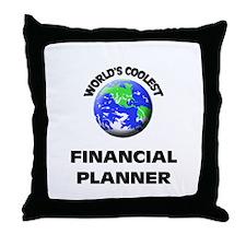 World's Coolest Financial Planner Throw Pillow