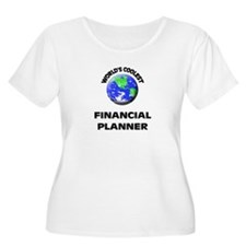World's Coolest Financial Planner Plus Size T-Shir