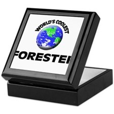 World's Coolest Forester Keepsake Box