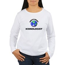 World's Coolest Iconologist Long Sleeve T-Shirt