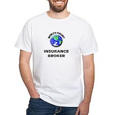 World's Coolest Insurance Broker T-Shirt