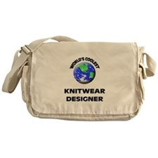 World's Coolest Knitwear Designer Messenger Bag