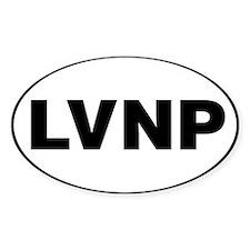 Lassen Volcanic National Park, LVNP Decal