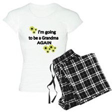 Im going to be a Grandma Again WITH FLOWERS Pajama