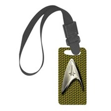 Star Trek Gold Command Luggage Tag
