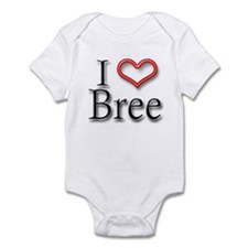 I Heart Bree Infant Bodysuit