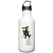 zombie kitty Water Bottle