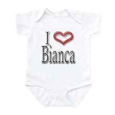 I Heart Bianca Infant Bodysuit