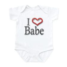I Heart Babe Infant Bodysuit