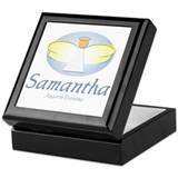 Angel-in-Training - Samantha Keepsake Box