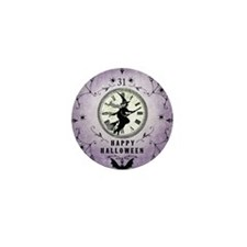 Modern Vintage Halloween Witching Hour Mini Button