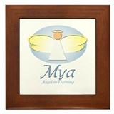 Angel-in-Training - Mya Framed Tile