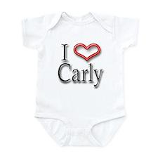 I Heart Carly Infant Bodysuit