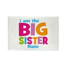 Big Sister Personalized Rectangle Magnet (100 pack
