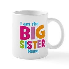 Big Sister Personalized Small Mugs
