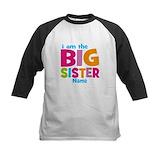 Personalized big sister Baseball Jersey