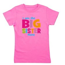 Big Sister Personalized Girl's Tee