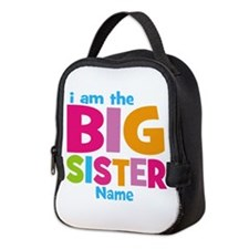 Big Sister Personalized Neoprene Lunch Bag