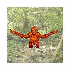 Orangutan Queen Duvet