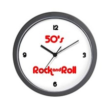 Wall Clock - 50's Rock and Roll