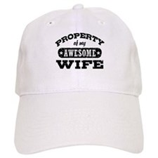 Property Of My Awesome Wife Baseball Cap