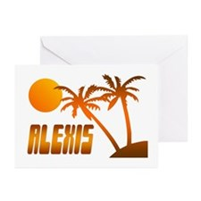 """Alexis Tropical"" Greeting Cards (Pk of 10)"