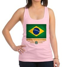 Flag of Brazil Racerback Tank Top