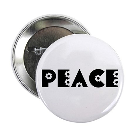 Peace 2.25&quot; Button (10 pack)