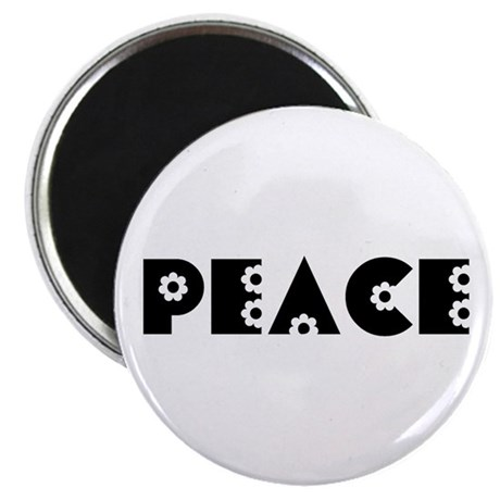 Peace 2.25&quot; Magnet (100 pack)