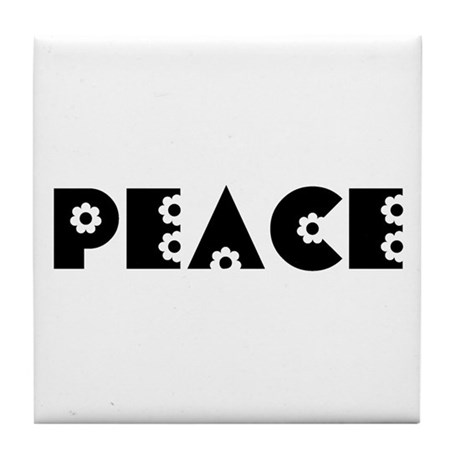 Peace Tile Coaster