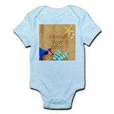 Beach Follow Your Bliss Infant Bodysuit