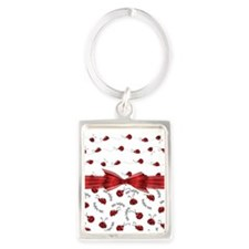 Perfect Little Ladybugs Keychains