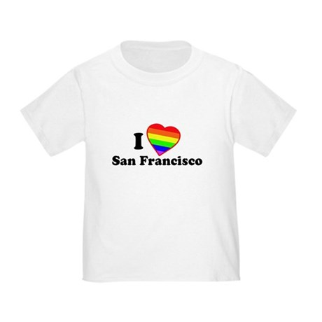 I Love [Heart] San Francisco Toddler T-Shir