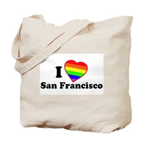 I Love [Heart] San Francisco Tote Bag