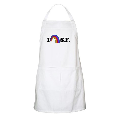 I Love [Heart] San Francisco BBQ Apron
