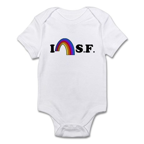 I Love [Heart] San Francisco Infant Bodysuit