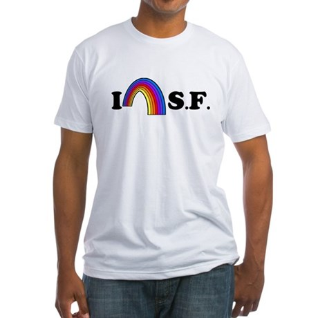 I Love [Heart] San Francisco Fitted T-Shirt