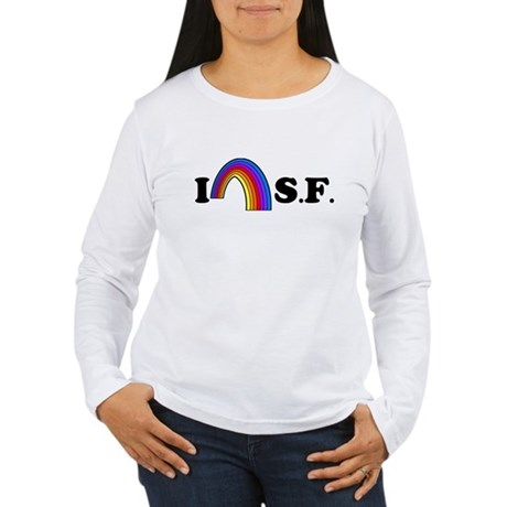 I Love [Heart] San Francisco Womens Long Sleeve T