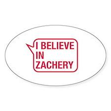 I Believe In Zachery Decal