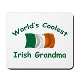 Coolest Irish Grandma Mousepad