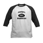 Property of Grandkids Kids Baseball Jersey