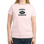 Property of Grandkids Women's Pink T-Shirt