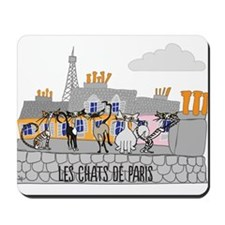 The Cats of Paris - Les Chats de Paris Mousepad