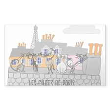 The Cats of Paris - Les Chats de Paris Decal