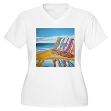 Beach Chair Reflection T-Shirt