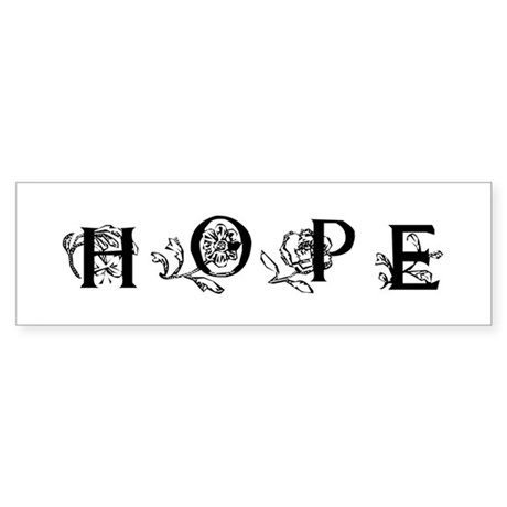 Hope Bumper Sticker