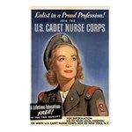 Wartime US Cadet Nurse Corps Postcards (Package of