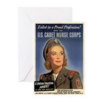Wartime US Cadet Nurse Corps Greeting Cards (Packa