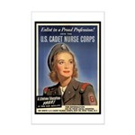 Wartime US Cadet Nurse Corps Mini Poster Print