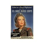 Wartime US Cadet Nurse Corps Rectangle Magnet